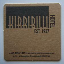 Kirribilli Hotel Est. 1937 35-37 Broughton St 0299551415 Coaster (B265)
