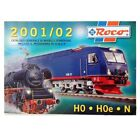 Libro Catalog General Of Models by Rail IN Scale N H0 H0e ROCO 2001/02