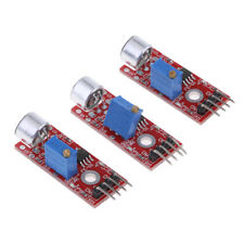 3 Pieces Microphone Sound Detection Sensor Module for   AVR PIC