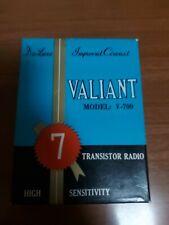 Valiant Model V-700 Transistor Radio