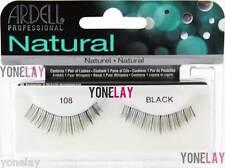 1 Pair ARDELL 108 False Eyelashes Fake Eye Lashes Invisibands Fashion Short Lash