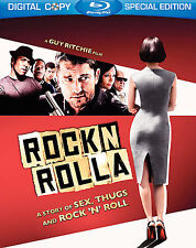 RocknRolla (Blu-ray 2009) A Story Of Sex, Thugs And Rock 'N' Roll FREE SHIPPING!
