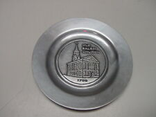 Peoples National Bank Lebanon PA Pewter Plate Old Salem Church