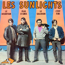 LES SUNLIGHTS Le déserteur FR Press DiscAZ 1034 EP