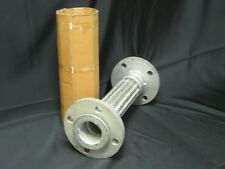 """STAINLESS 2-1/2"""" FLEX HOSE CLASS 150 B16 FLANGE 15"""" FLANGE TO FLANGE 170 PSI"""