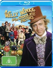 Willy Wonka And The Chocolate Factory : Blu-ray Brand New & Sealed