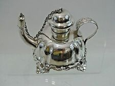WONDERFUL ANTIQUE STERLING SILVER TABLE CIGAR LIGHTER AMERICAN TOBACCO SMOKING