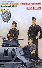 Dragon 1/35 6655 WWII German Panzer-Regiment 7 10.Panzer-Division Smolensk 1941