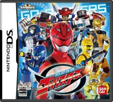 USED  DS Tokumei Sentai Go Busters game soft