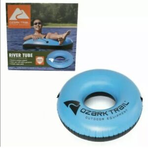 Ozark Trail River Tube Blue Inflatable Water Pool Float - NEW