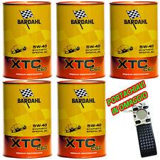 BARDAHL BARDHAL XTC C60 5w40 Olio Motore Auto Fullerene  5 lt litri + omaggio