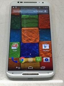 Motorola MOTO X (2nd Generation) Smartphone White/Bamboo Grade A