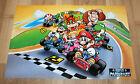 Super Mario Kart rare small Retro Poster 42x28cm Nintendo SNES