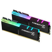16GB (8GBx2) G.SKILL Trident Z RGB PC Desktop Memory DDR4 PC25600 3200MHz CL16 K