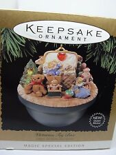 1995, VICTORIAN TOY BOX,  HALLMARK MAGIC KEEPSAKE ORNAMENT