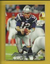 Tom Brady 2010 Topps Prime Card # 130 New England Patriots Football NFL