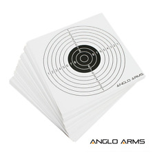 50 x Targets for Air Rifle practice, shooting, fits standard pellet catcher