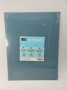 BLUE BAYOU Cardstock 8.5 X 11 Stampin Up Paper #108642 NEW