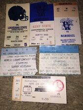 Lot Of Used Tickets Kentucky Basketball, World Championship Rodeo & Cardinals