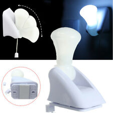 Portable Bright Light LED Stick Up Pull String Battery Bulb Cabinet Mount Lamp