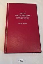 "Vintage Poetry book Dr. Alon P Winnie ""Never Take A Rainbow For Granted"" (HG1)"