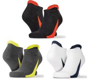3 Paquet De Baskets Chaussettes Blanc Noir ou Gris Coupe Basse Unisexe SPORTS