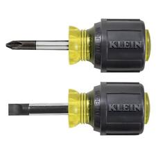 Klein 85071 2-Piece Stubby Screwdriver Set