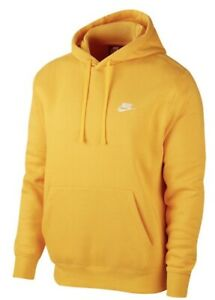 Nike Men's NSW Sportswear Club Fleece Pullover Training Athletic Active Hoodie