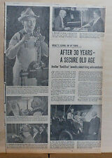 1950 newspaper ad for Ford - Oldest Living Auto Mechanic Walter Griffith