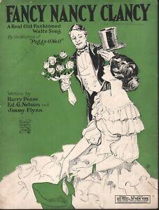 Fancy Nancy Clancy 1923 Sheet Music