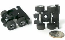 1983 Aurora AFX Tractor Trailer BOGEY Coupler Wheel Bases +Wheels Tires Unused