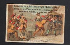 IMAGE / L. FOUSSES à PARIS / CHAUSSURES / TURENNE sépare FRANCAIS des ITALIENS