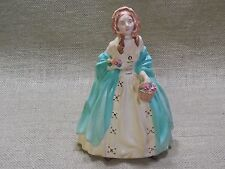 Vintage Victorian Chalkware, Lady with Basket