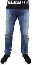 Diesel Men Jeans 32 W x 30 Belther 828T ITALY Reg Slim Tapered Distressed NWT
