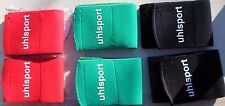 6 UHLSPORT  SHINGUARD FASTERNER 6,5 cm TAILLE UNIQUE  FOOTBALL NEUF