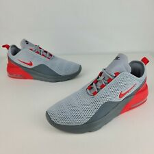 Men's Nike Air Max Motion 2 Red Grey Running Shoes Men's Size 9 M (CI7589-001)