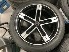 "Wolfrace 18"" Alloy Wheels Set of 4. TYRES INCLUDED."