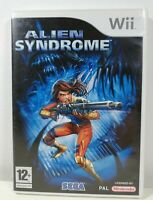 Alien Syndrome Nintendo Wii Mint Condition Complete PAL UK Fast Free P&P Sega