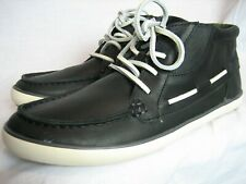 Camper Romeo Vulcanizado Black Leather Chukka Boot UK 7 EU 41 retro classic US 8