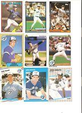 18 CARD JOHN CERUTTI BASEBALL CARD LOT            27