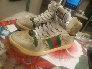 Gucci Screener GG High Top Brand New Never Tried On Guarunteed Authentic
