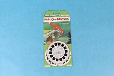 VINTAGE VIEW-MASTER 3D REEL PACKET DISNEY'S FOX & HOUND IN SPANISH MINT/SEALED