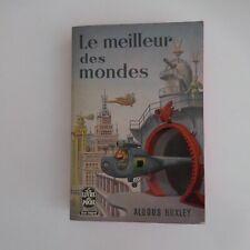 ALDOUS HUXLEY 1964 Le meilleur des mondes littérature science-fiction N5948