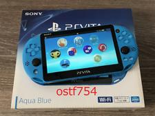 PlayStation PS Vita Wi-Fi Console Slim 2000 SONY Aqua Blue PCH-2000ZA23 2015