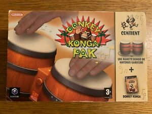 Donkey Konga Pak + Bongos Nintendo GAMECUBE Complet
