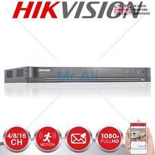 Hikvision Dvr 4CH 8CH 16CH Turbo hasta 4MP Full HD TVI CVI Cctv Canal dispositivo antimanipulación