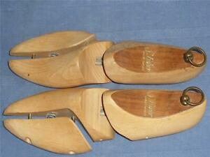 Vintage - S.Fisher Covent Garden Wooden Shoe Trees Stretchers Good Condition.