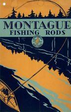 1931 Montague Bamboo Fly Fishing Rod Catalog e-Book/Pdf. 300dpi Free Shipping