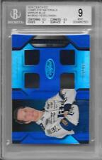 2016 CERTIFIED COMPLETE MATERIALS MIRROR BLUE #4 BRAD KESELOWSKI 34/50 BGS 9