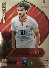 Panini Adrenalyn XL FIFA World Cup Russia 2018 Bryan Ruiz Limited Edition